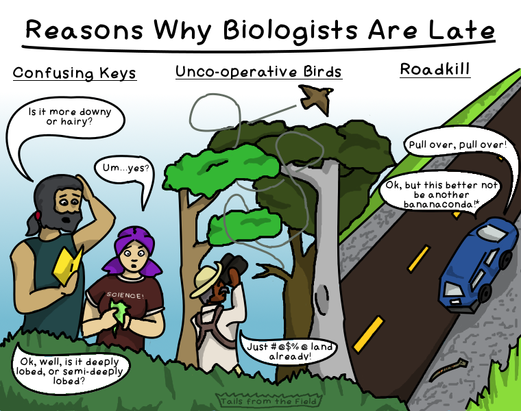 8. Reasons Why Biologists Are Late